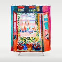 Henri Matisse Open Window Shower Curtain