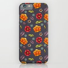 Flowers in the air Slim Case iPhone 6s