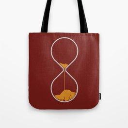 giraffe hourglass Tote Bag