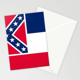 Flag of Mississippi Stationery Cards