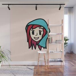 GIrl Wall Mural
