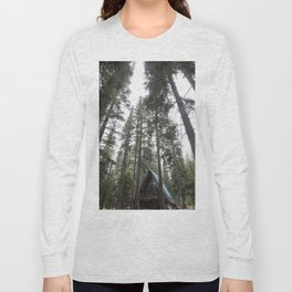 A Frame Cabin Long Sleeve T-shirt