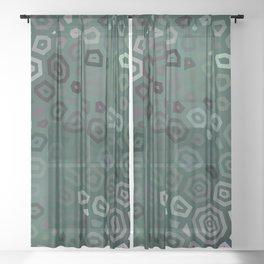 Experimental pattern 46 Sheer Curtain