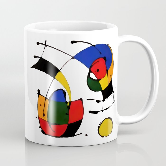 In the Style of Miro Coffee Mug