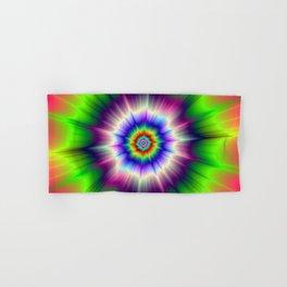 Explosive Tie-Dye Hand & Bath Towel