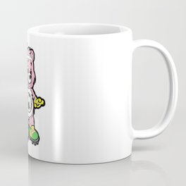 SOCCER Player TEDDY Bear Son Daughter Pit Cleats Coffee Mug