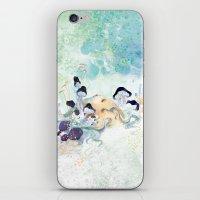 mushroom iPhone & iPod Skins featuring mushroom by ARTION