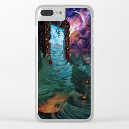 Divine Ingress Clear iPhone Case