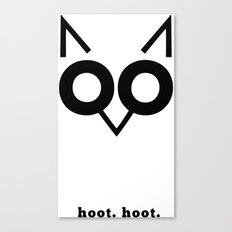 Hoot Hoot Canvas Print