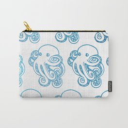 ombre octopuses Carry-All Pouch