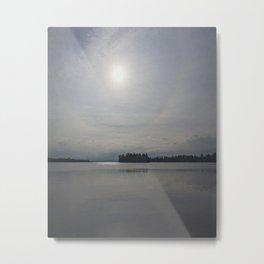 calm on the lake Metal Print