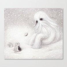 A Yeti Canvas Print
