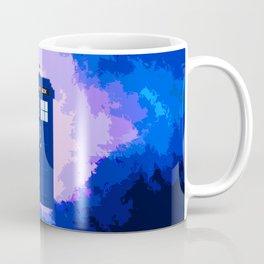 Tardis The Blue Phone Both Coffee Mug