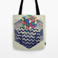 the xx Tote Bags featuring XX by Steven Kline