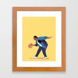 Secret Weapon Framed Art Print