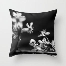 Wabi Sabi - blossoms Throw Pillow