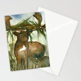 King of the forest Stationery Cards