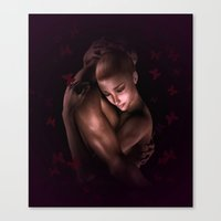 lovers Canvas Prints featuring Lovers by Britta Glodde
