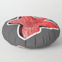 Giant Red Meeple Floor Pillow