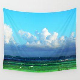 Cuban Waters Wall Tapestry
