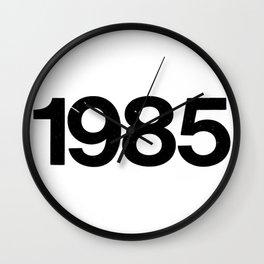 1985 Wall Clock