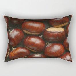 Autumn Chestnuts Rectangular Pillow