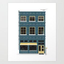 Market St. Art Print