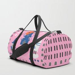 Fantastic Halloween in pink Duffle Bag