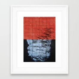 MISMEASURE IX Framed Art Print
