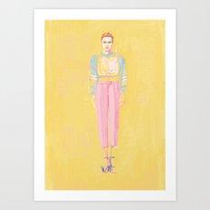 fashionistish  Art Print