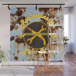 Rockatansky's Fix-It Shop Wall Mural