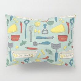 Italian Food Pillow Sham