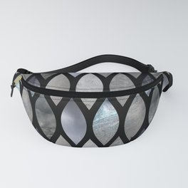 Silver Scales Fanny Pack