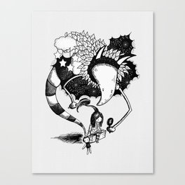 Imaginary Fiend Canvas Print