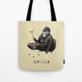 Grilla Tote Bag