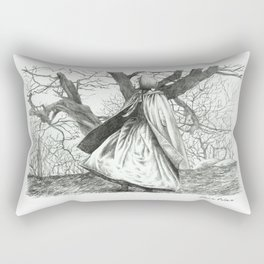 In the moorland Rectangular Pillow