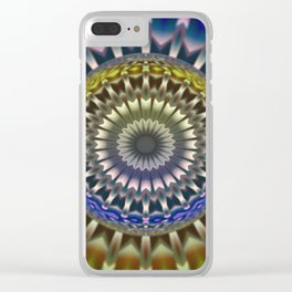 Focus mandala Clear iPhone Case