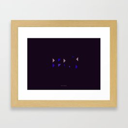 Berlin - Citries Project Framed Art Print