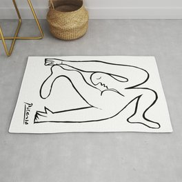 Pablo Picasso Le Acrobat, 1930, Artwork Reproduction, Tshirts, Prints, Posters For Men, Women, Youth Rug