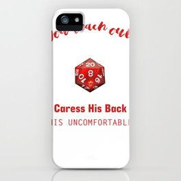 Dungeon RPG DND Tabletop Gaming Orc Fail Dragon product iPhone Case