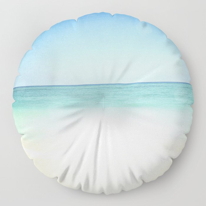 Seven Mile Beach Floor Pillow