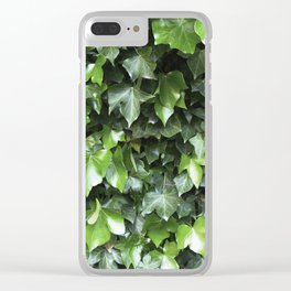 Evergreen Ivy Clear iPhone Case