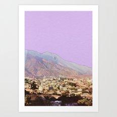 Lilac Skies Art Print