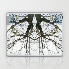 Mirrored Trees 4 Laptop & iPad Skin