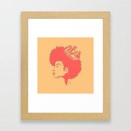 A Queen Framed Art Print