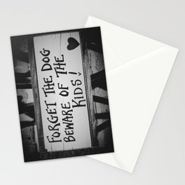 London Beware Kids Stationery Cards
