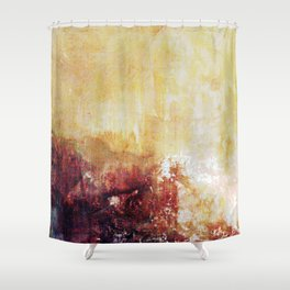 Sunny Landscape Abstract Shower Curtain
