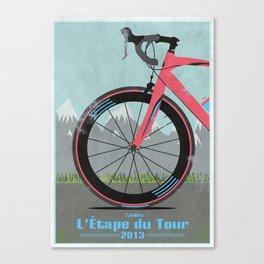 L'Etape du Tour Bike Canvas Print