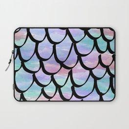 Mermaid Scale Watercolor Laptop Sleeve