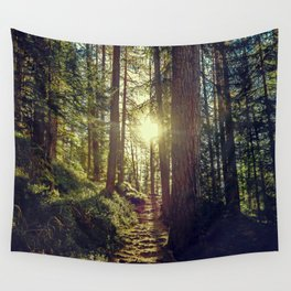 Hidden trail Wall Tapestry